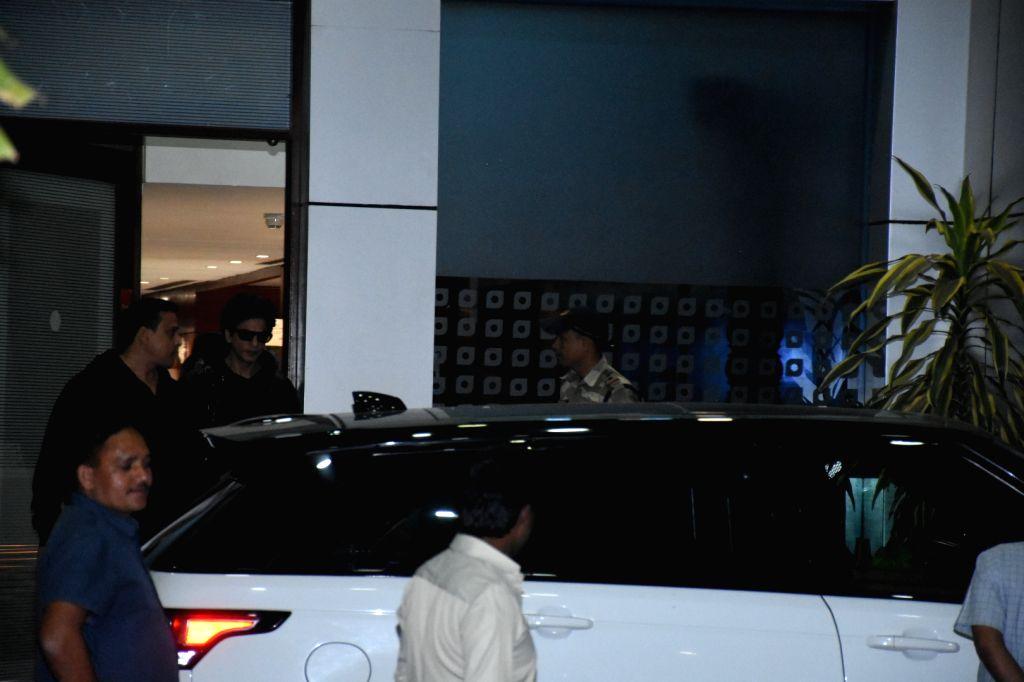 Actor Shah Rukh Khan seen at Mumbai Airport on Feb 6, 2020. - Shah Rukh Khan