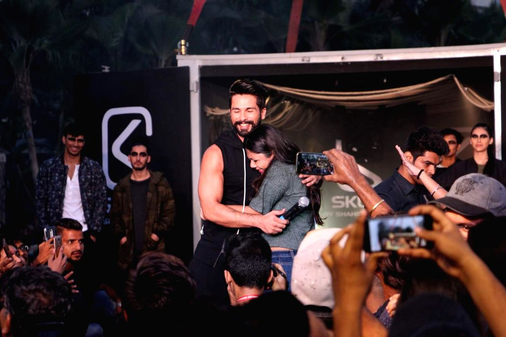 Actor Shahid Kapoor during the launch of Abof an online one-stop fashion portal for apparel in Mumbai, on Oct 18, 2016. - Shahid Kapoor