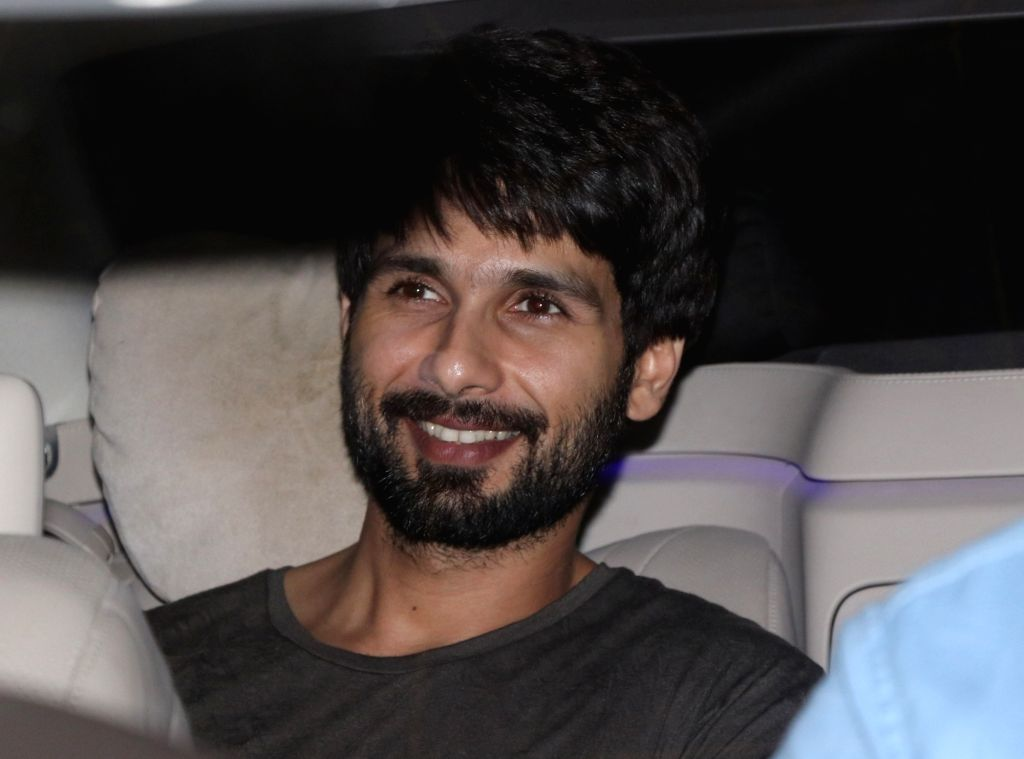 Actor Shahid Kapoor seen at Mumbai's Juhu on July 25, 2018. - Shahid Kapoor