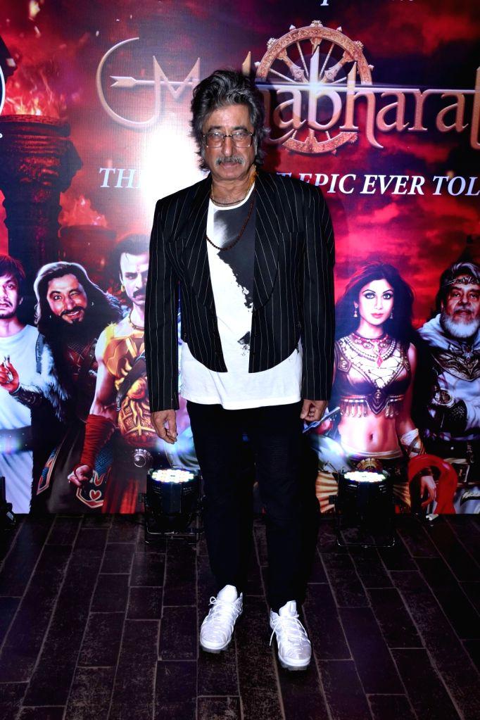 Actor Shakti Kapoor during a programme in Mumbai on Oct 30, 2018. - Shakti Kapoor