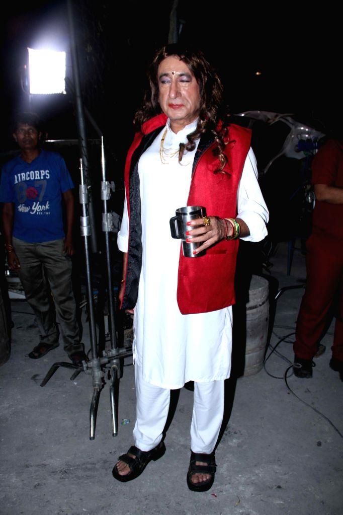 Actor Shakti Kapoor during the on location shoot of upcoming film Rakdhaar, in Mumbai, on July 29, 2016. - Shakti Kapoor