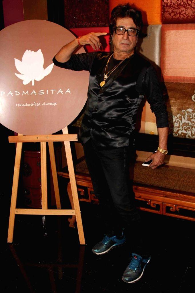 Actor Shakti Kapoor during the showcase of Padmasitaa Vivaha exhibition in Mumbai, on November 20, 2015. - Shakti Kapoor