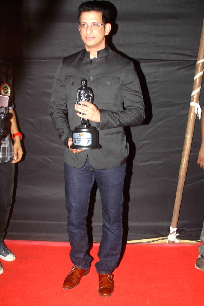 Actor Sharman Joshi during the Dada Saheb Film Foundation Awards 2017 in Mumbai on May 7, 2017. - Sharman Joshi