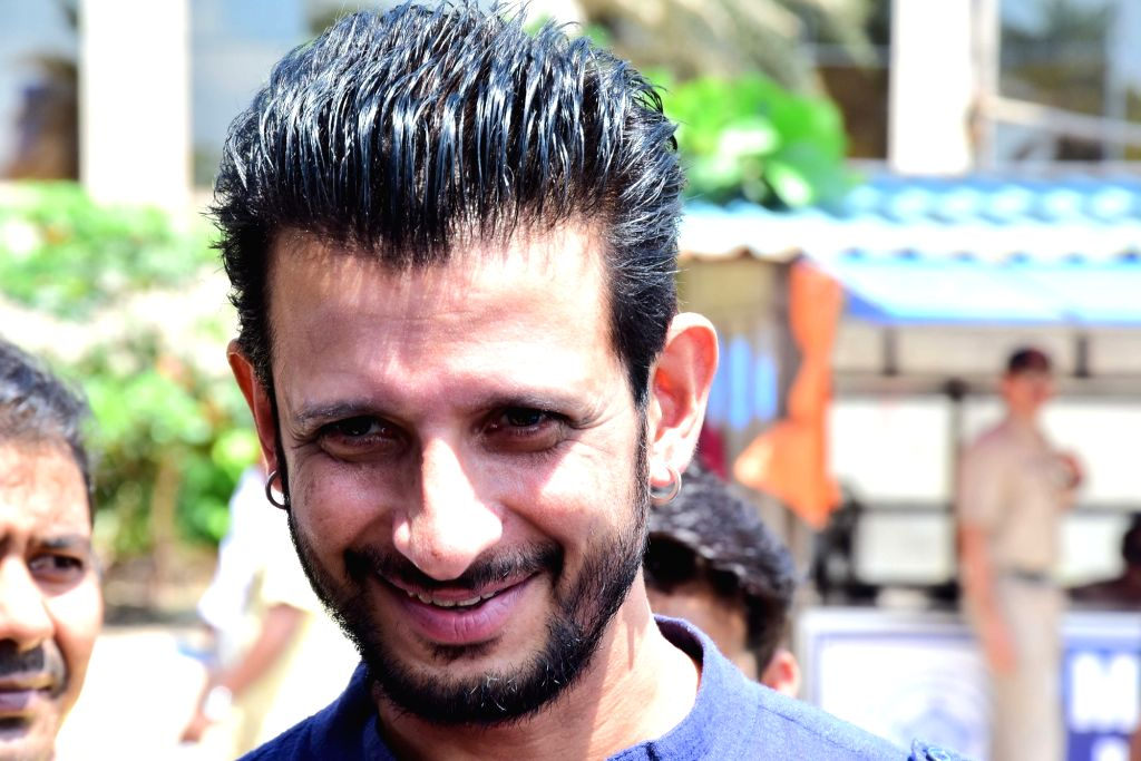"Actor Sharman Joshi during the promotion of his upcoming film ""Kashi"" in Mumbai on Sept 17, 2018. - Sharman Joshi"