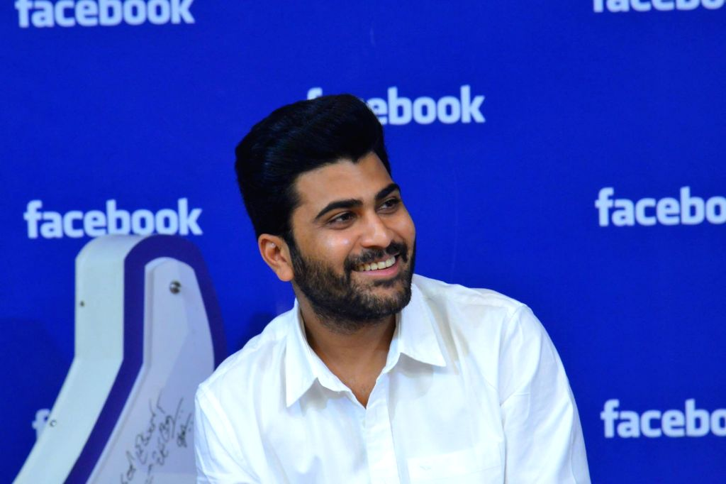 Actor Sharvanand at Facebook Office in Hyderabad on Jan 12, 2017 - Sharvanand