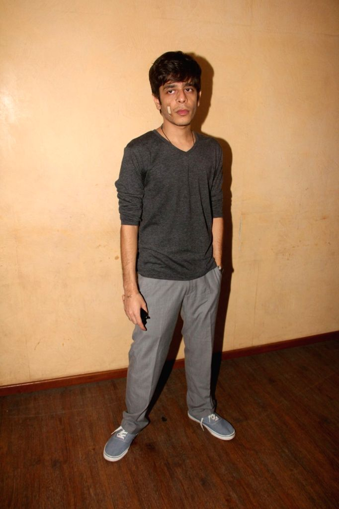 Actor Shashank Arora during a meet and greet session of film Titli in Mumbai on Oct 16, 2015. - Shashank Arora