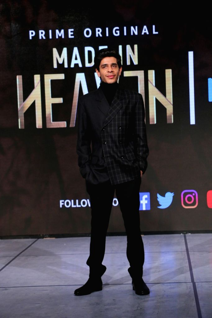 "Actor Shashank Arora during the launch of his upcoming web series ""Made In Heaven"" with Amazon Prime Video in Mumbai, on March 7, 2019. - Shashank Arora"