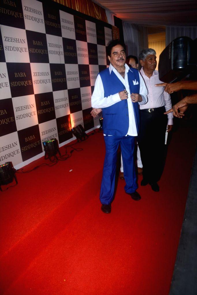 Actor Shatrughan Sinha at politician Baba Siddique's iftar party in Mumbai on June 10, 2018. - Shatrughan Sinha