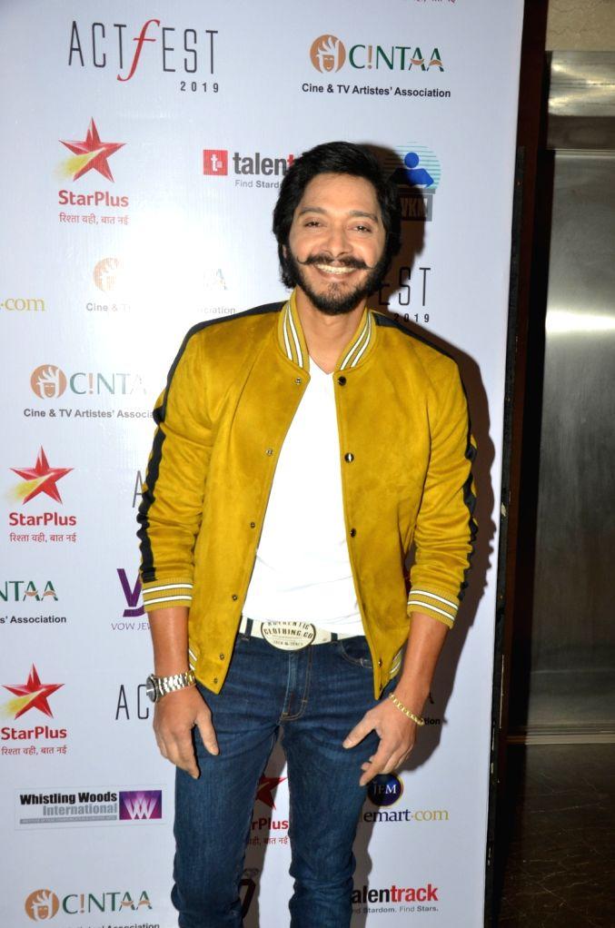 Actor Shreyas Talpade at CINTAA's ActFest in Mumbai, on Feb 16, 2019. - Shreyas Talpade