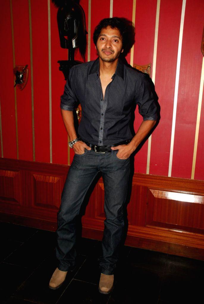 Actor Shreyas Talpade at Live gig of Farenhite at Firangi Paani,Fun Republic.