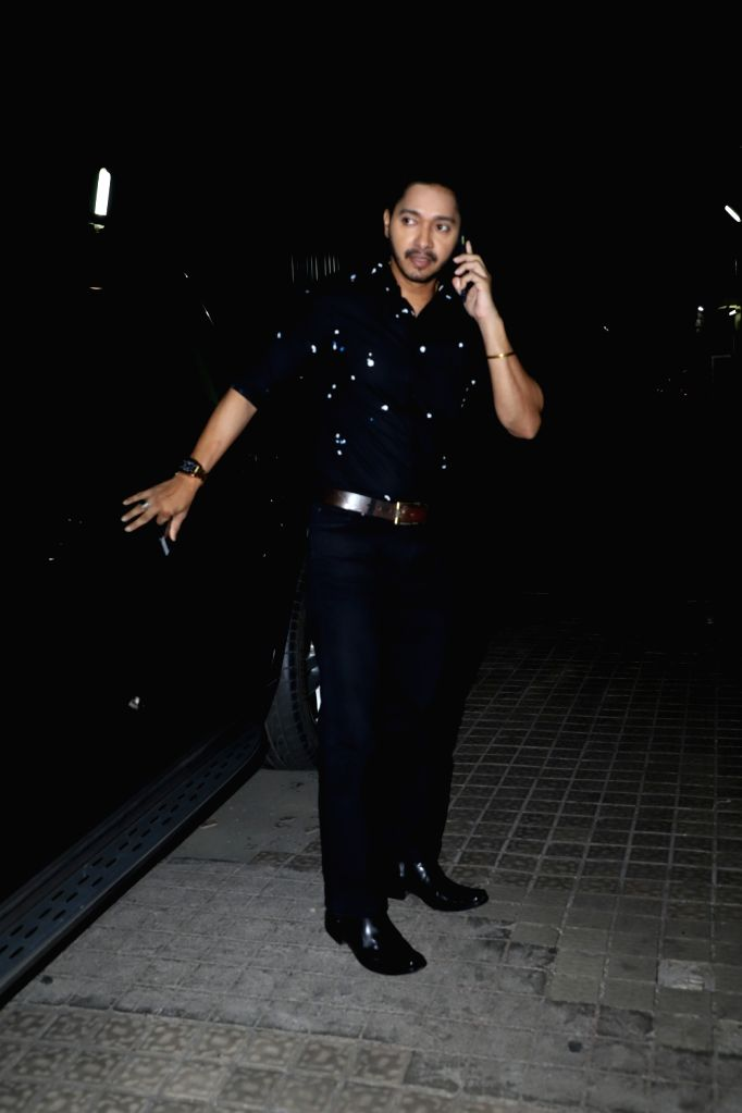 "Actor Shreyas Talpade at the screening of the upcoming Marathi film ""Prawaas"" in Mumbai on Feb 11, 2020. - Shreyas Talpade"