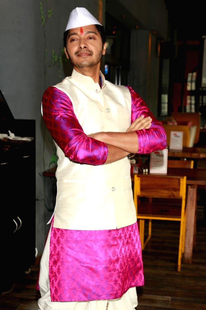 "Actor Shreyas Talpade during a press confrence to promote his upcoming film ""Wah Taj"" in New Delhi on Sept 19, 2016. - Shreyas Talpade"