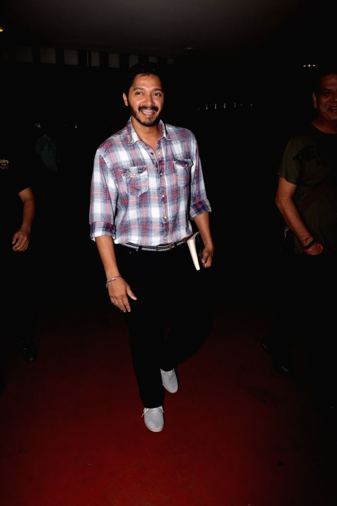 Actor Shreyas Talpade spotted at Chhatrapati Shivaji Maharaj International airport in Mumbai on Aug 12, 2017. - Shreyas Talpade