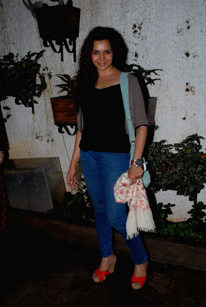 Actor Shweta Kawatra during special screening of film Hate Story 2, in Mumbai on July 17, 2014. - Shweta Kawatra