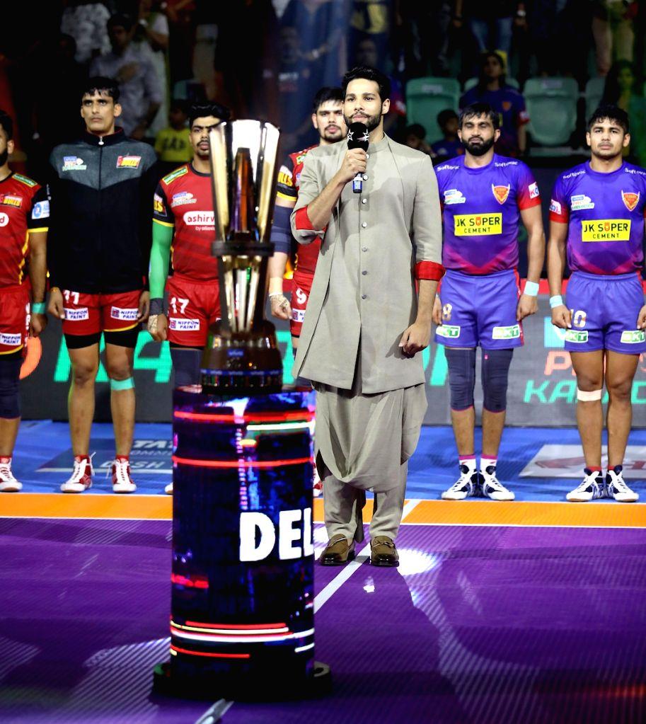 Actor Siddhant Chaturvedi at the inauguration of Pro Kabaddi Season 7 at the Thyagaraj Sports Complex in New Delhi on Aug 24, 2019. - Siddhant Chaturvedi