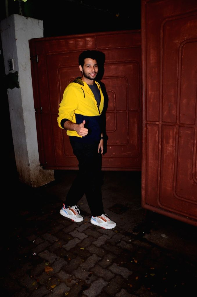 """Actor Siddhant Chaturvedi at the screening of the Marathi film """"Smile Please"""" in Mumbai on July 15, 2019. - Siddhant Chaturvedi"""