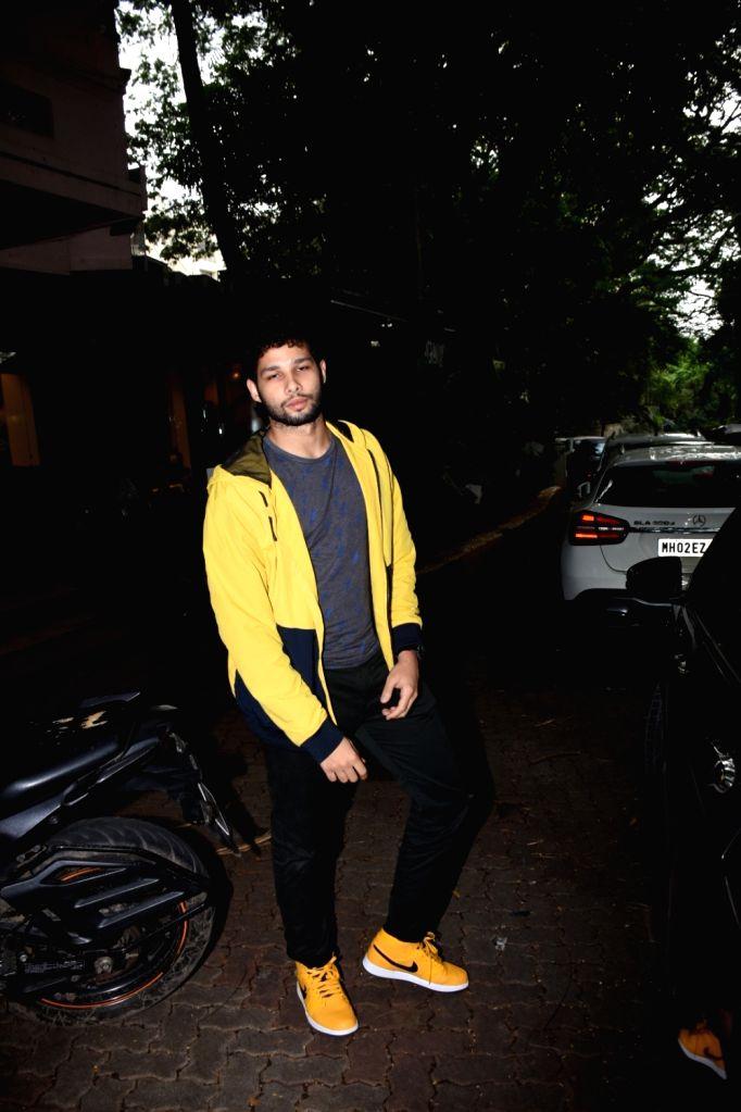 Actor Siddhant Chaturvedi seen at Bandra in Mumbai, on July 15, 2019. - Siddhant Chaturvedi