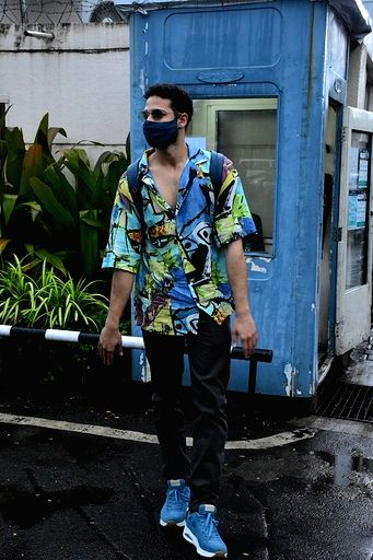 Actor Siddhant Chaturvedi seen at the Chhatrapati Shivaji International Airport in Mumbai on Sep 11, 2020. - Siddhant Chaturvedi