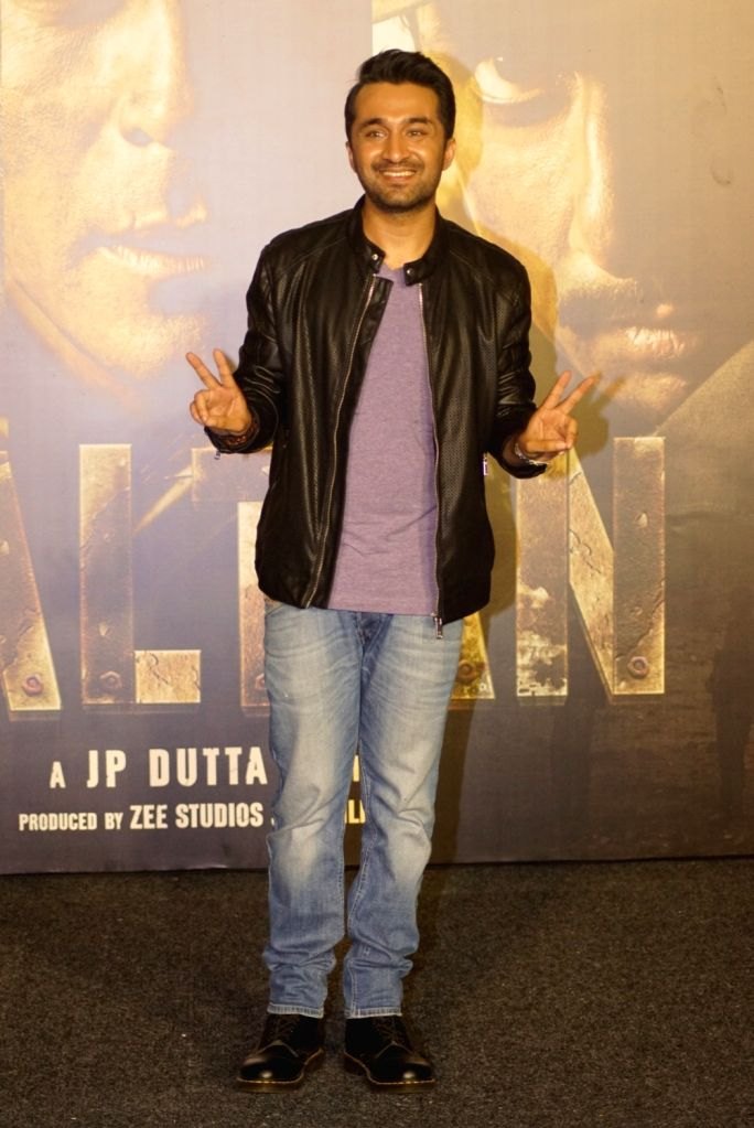 "Actor Siddhanth Kapoor at the trailer launch of upcoming film ""Paltan"", in Mumbai on Aug 2, 2018. - Siddhanth Kapoor"