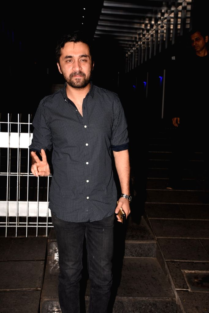 Actor Siddhanth Kapoor during actress Padmini Kohlapure's birthday bash in Mumbai on Oct 31, 2018. - Siddhanth Kapoor