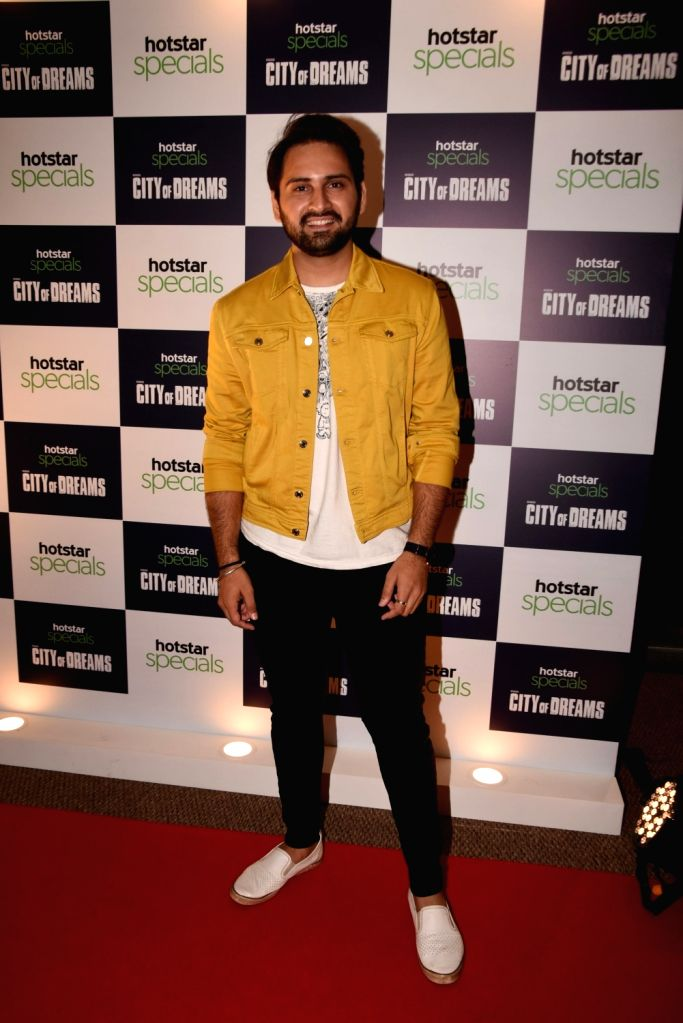 """Actor Siddharth Chandekar at the trailer launch of the upcoming web series """"City of Dreams"""" in Mumbai, on April 25, 2019. - Siddharth Chandekar"""