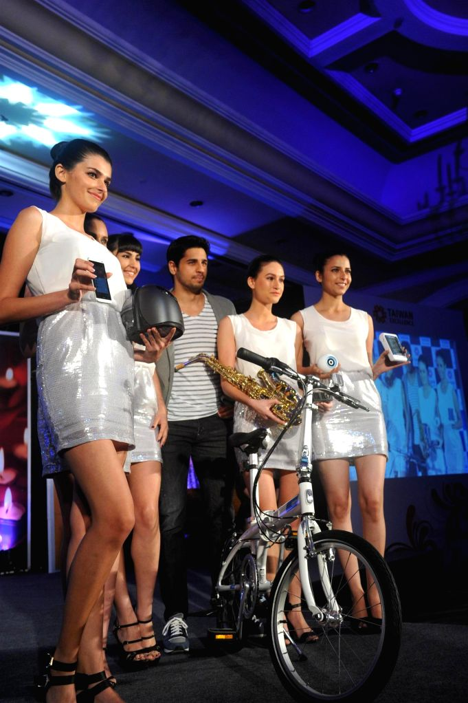 Actor Siddharth Malhotra during Taiwan Excellence 2014 Campaign at Hotel ITC Parel, in Mumbai on July 10, 2014.
