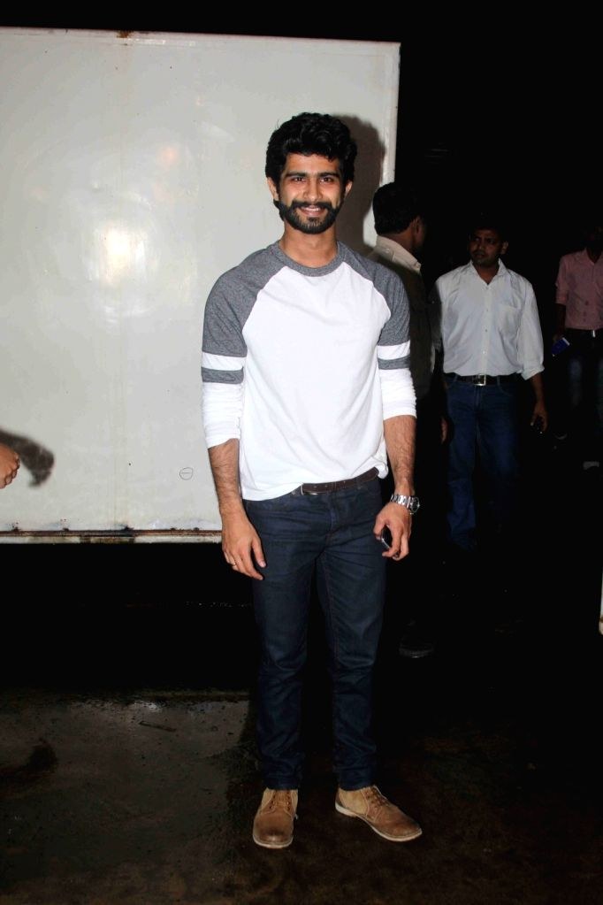Actor Siddharth Menon during the screening of film Queen of Katwe in Mumbai on Oct 5, 2016. - Siddharth Menon