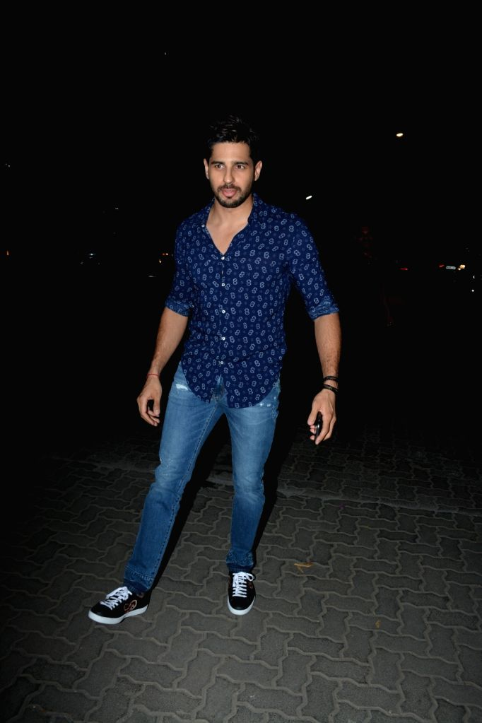 Actor Sidharth Malhotra. (File Photo: IANS) - Sidharth Malhotra