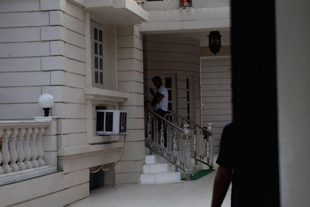 Actor Sidharth Malhotra seen at telivision producer Ekta Kapoor's residence, in Mumbai on Feb 24, 2019. - Sidharth Malhotra and Ekta Kapoor