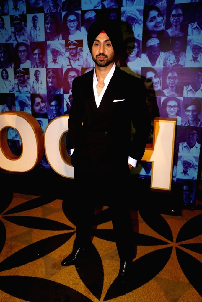 "Actor-singer Diljit Dosanjh  during a press conference regarding his upcoming music reality show ""Rising Star 2"" in Mumbai on Jan 16, 2018."