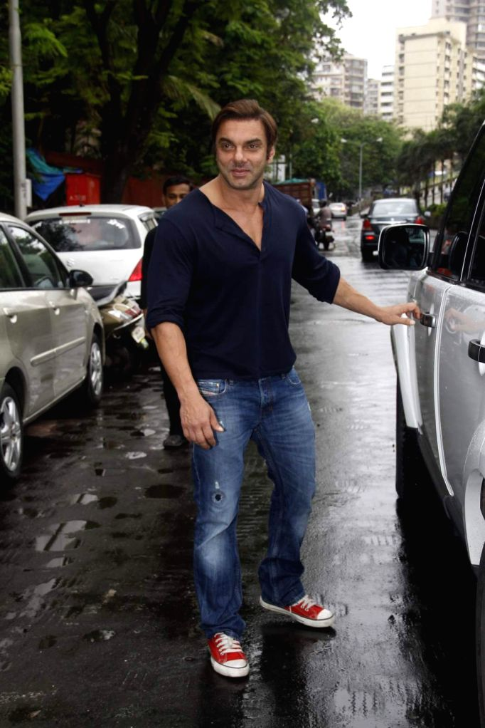 Actor Sohail Khan during the launch of Jewels new collection Rise Anew in Mumbai, on Aug 12, 2015. - Sohail Khan