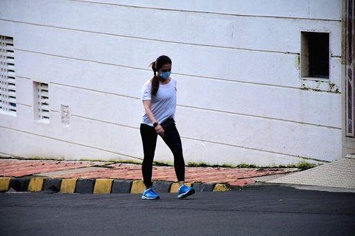 Actor Sohail Khan's wife Seema Sachdev Khan seen at Bandra in Mumbai on Sep 1, 2020. - Sohail Khan and Seema Sachdev Khan