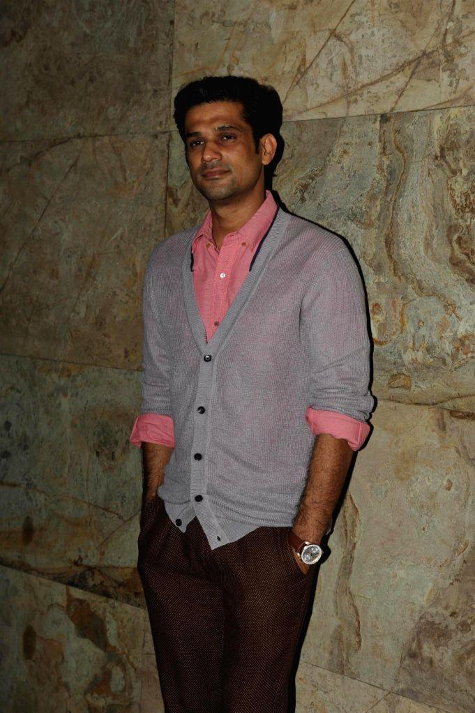 :Actor Sohum Shah during the special screening of documentary film `Gulabi Gang` at Light Box in Mumbai, on February 10, 2014. (Photo: IANS).