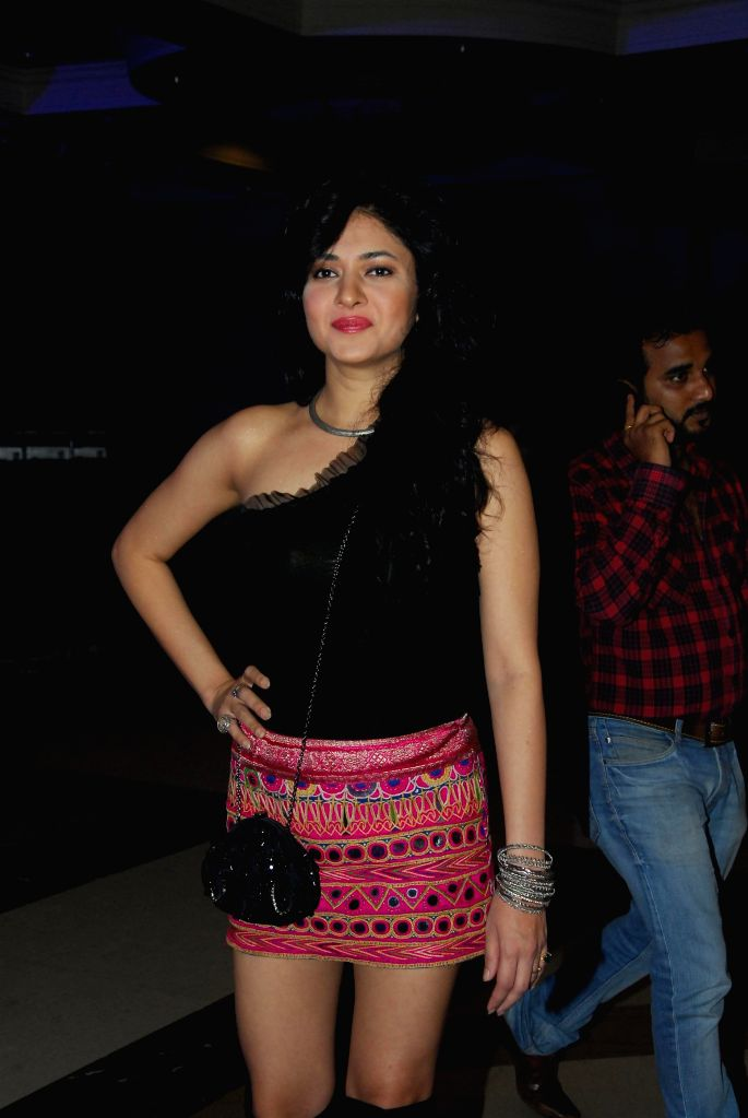 Actor Sonal Sehgal during the launch of Fox Traveller`s new television channel Fox Life in Mumbai on July 16, 2014. - Sonal Sehgal