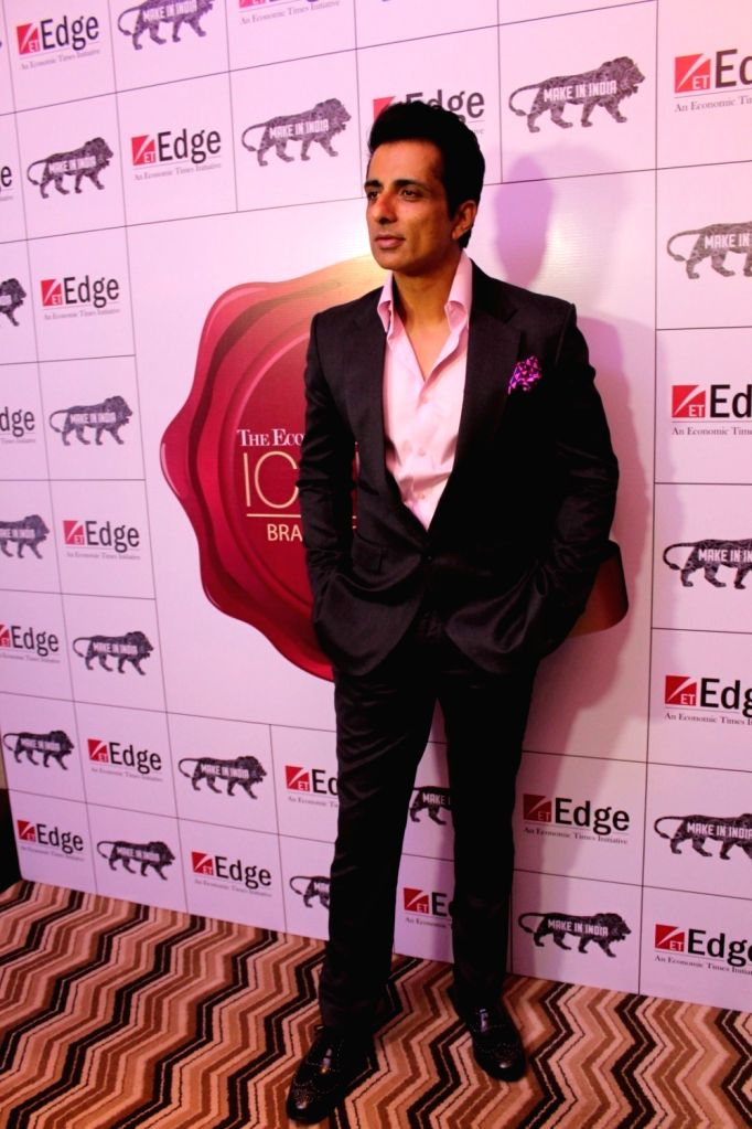 Actor Sonu Sood at  Best Iconic Brands Summit in Mumbai on March 24, 2017. - Sonu Sood
