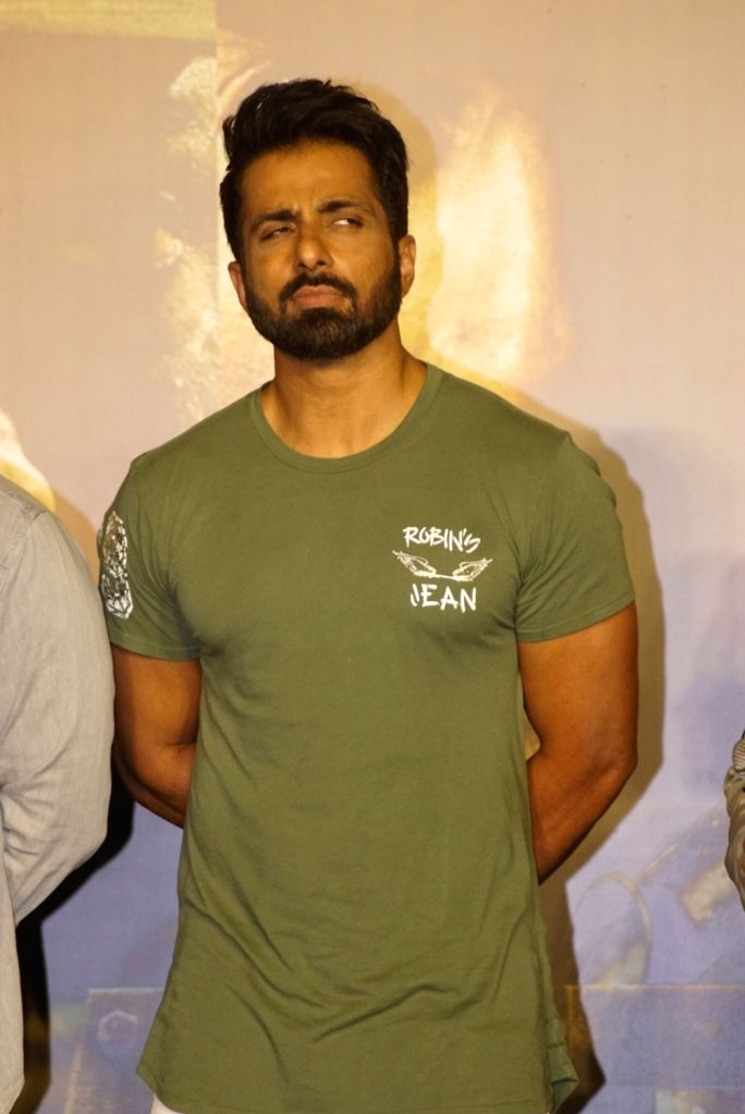 "Actor Sonu Sood at the trailer launch of his upcoming film ""Paltan"", in Mumbai on Aug 2, 2018. - Sonu Sood"
