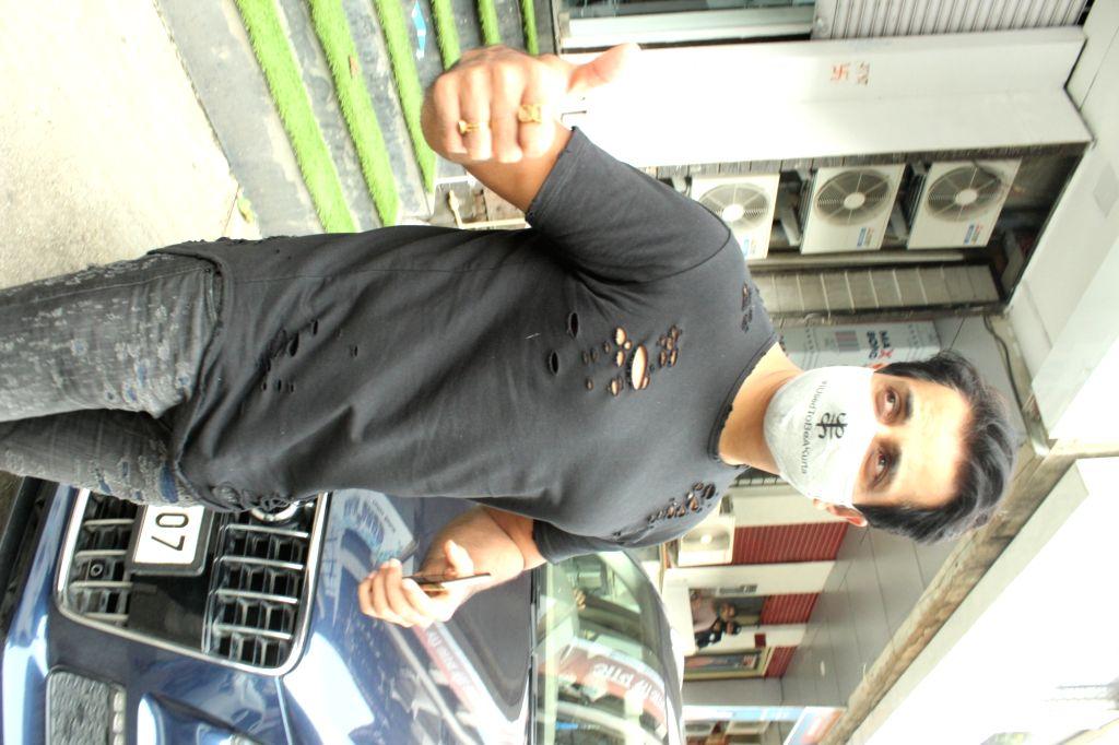 Actor Sonu Sood seen in Mumbai's Andheri on July 31, 2020. - Sonu Sood