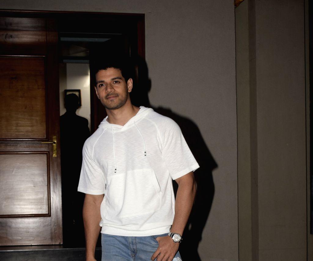 Actor Sooraj Pancholi at Morani's bachelor party at Juhu in Mumbai on Feb. 03, 2019. - Sooraj Pancholi