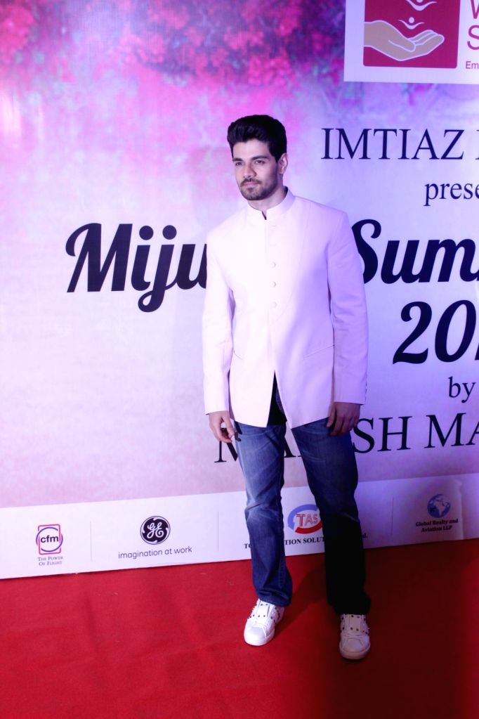 Actor Sooraj Pancholi during the Mijwan Summer 2017 fashion show during the Mijwan Summer 2017 fashion show in Mumbai on March 5, 2017. - Sooraj Pancholi