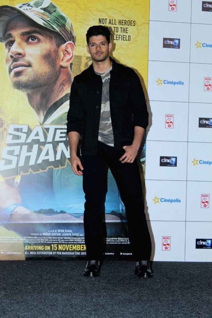 "Actor Sooraj Pancholi during the trailer launch of his upcoming film ""Satellite Shankar"" in Mumbai on Oct 17, 2019. - Sooraj Pancholi"