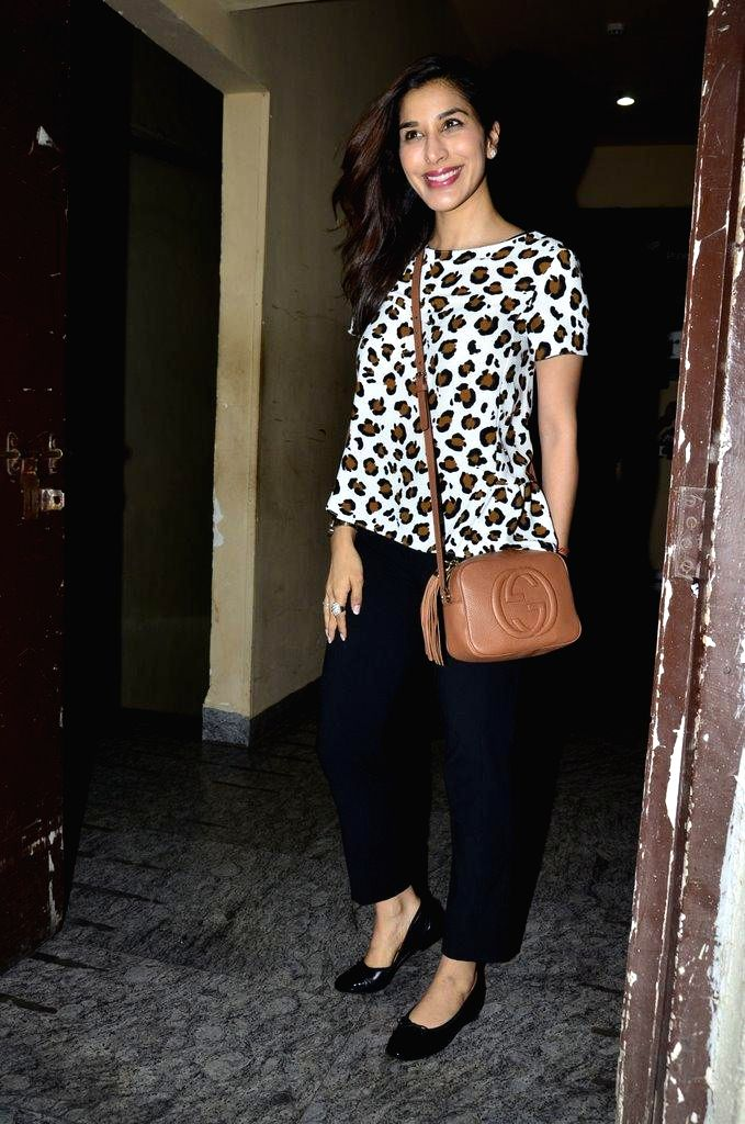 Actor Sophie Choudry during the special screening of film Finding Fanny in Mumbai on Sept 7, 2014. - Sophie Choudry