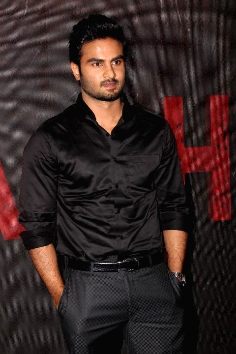 Actor Sudheer Babu during a media interaction, in Mumbai on April 19, 2016. - Sudheer Babu