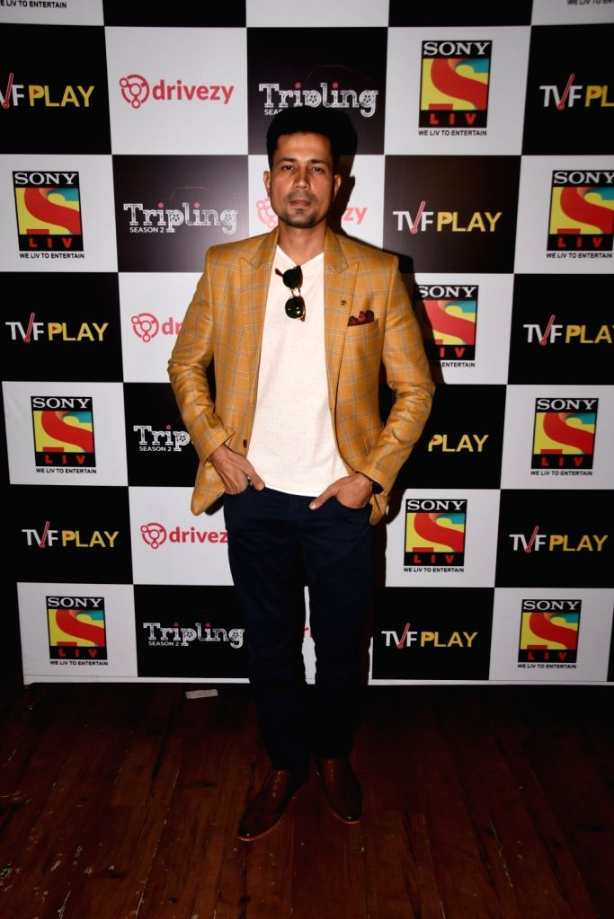 Actor Sumeet Vyas at the launch of the second season of his upcoming web series 'Tripling' in Mumbai, on March 14 2019. - Sumeet Vyas