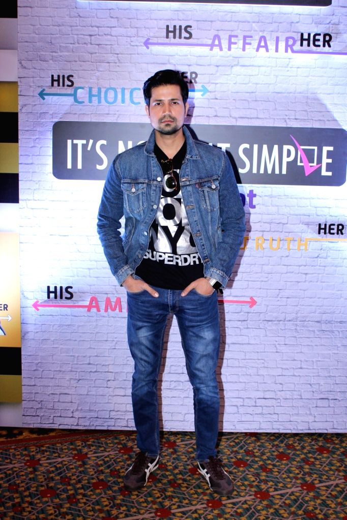 Actor Sumeet Vyas during a programme in Mumbai on Dec 11, 2018. - Sumeet Vyas