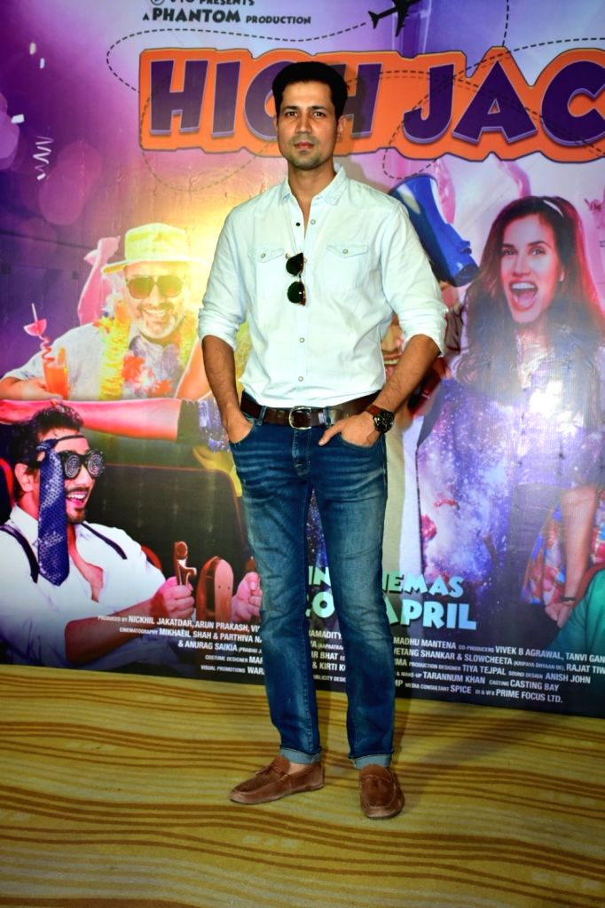 """Actor Sumeet Vyas during the trailer launch of his upcoming film """"High Jack"""", in Mumbai on March 27, 2018. - Sumeet Vyas"""