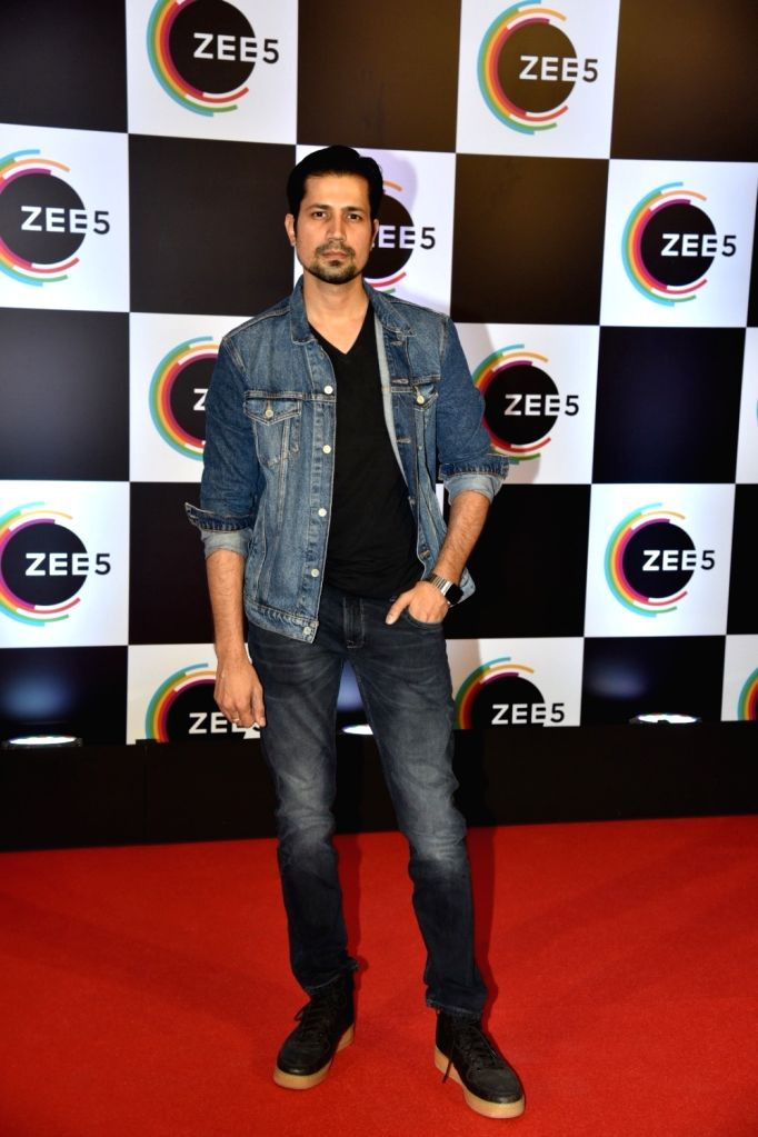 Actor Sumeet Vyas on the red carpet of Zee5's first anniversary celebrations in Mumbai, on Feb 14, 2019. - Sumeet Vyas