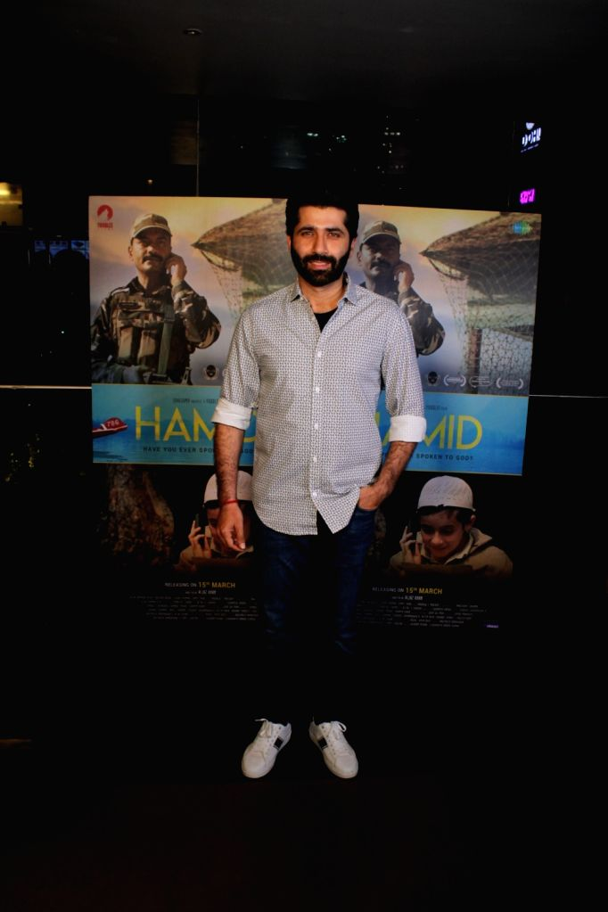 """Actor Sumit Kaul at the screening of his upcoming film """"Hamid"""" in Mumbai, on March 13, 2019. - Sumit Kaul"""