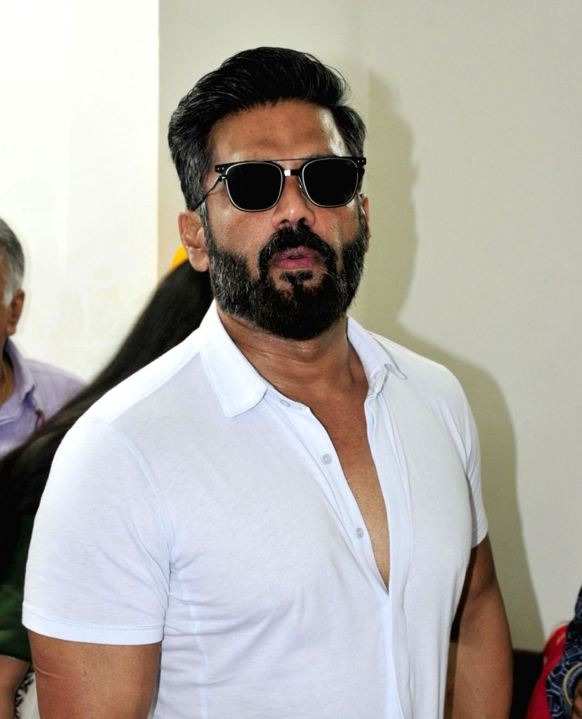 Actor Suniel Shetty - Suniel Shetty