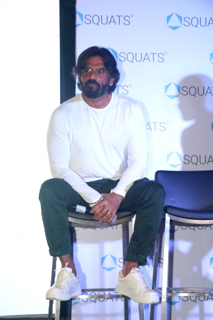 Actor Sunil Shetty during a programme in Mumbai, on May 10, 2019. - Sunil Shetty