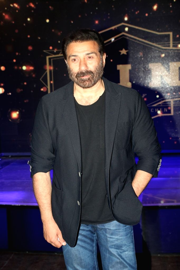 """Actor Sunny Deol at the wrap-up party of his upcoming film """"Blank"""" in Mumbai, on April 12, 2019. - Sunny Deol"""